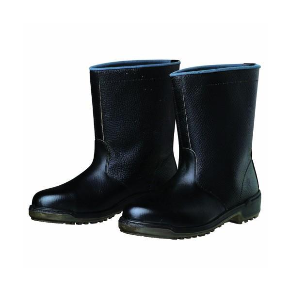 【送料無料】ドンケル ウレタン底安全靴(半長靴)PU二層底 耐滑 衝撃吸収 ブラック 29.0cm D5006 1足