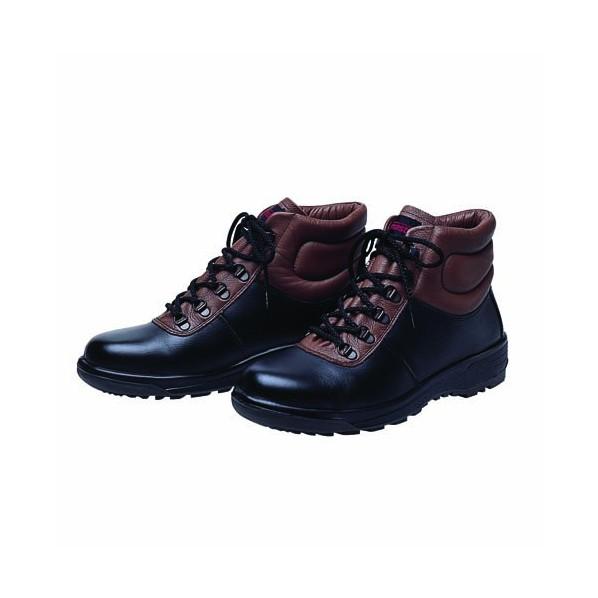 【送料無料】ドンケル ウレタン底安全靴(ヒモ)ミドルカット PU二層底 耐滑 衝撃吸収 ブラック 26.5cm 703N 1足