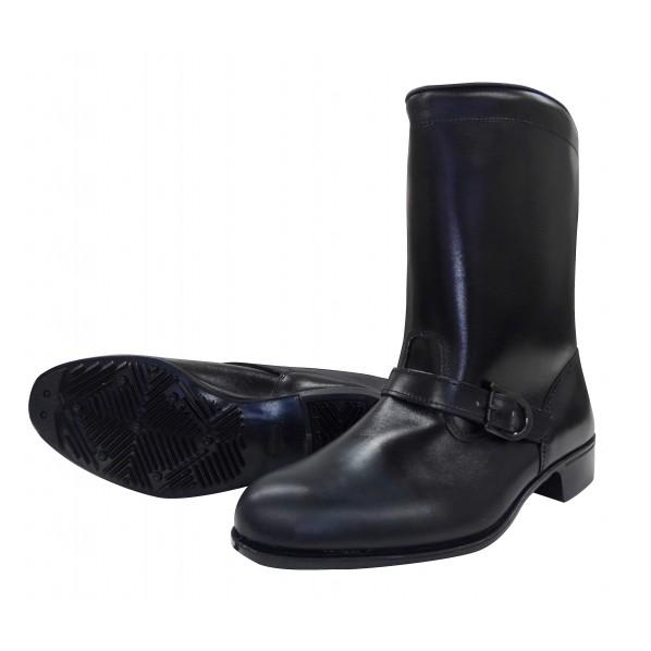【送料無料】ミドリ安全 ドンケル 作業靴306 バンド付キ半長靴 25.0 EEE 1個