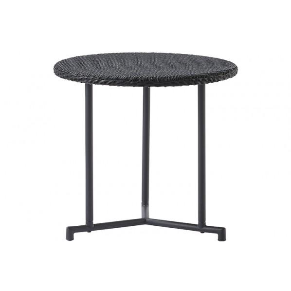 【送料無料】MA サイドテーブル ブラック Φ520×H530 660151 1個