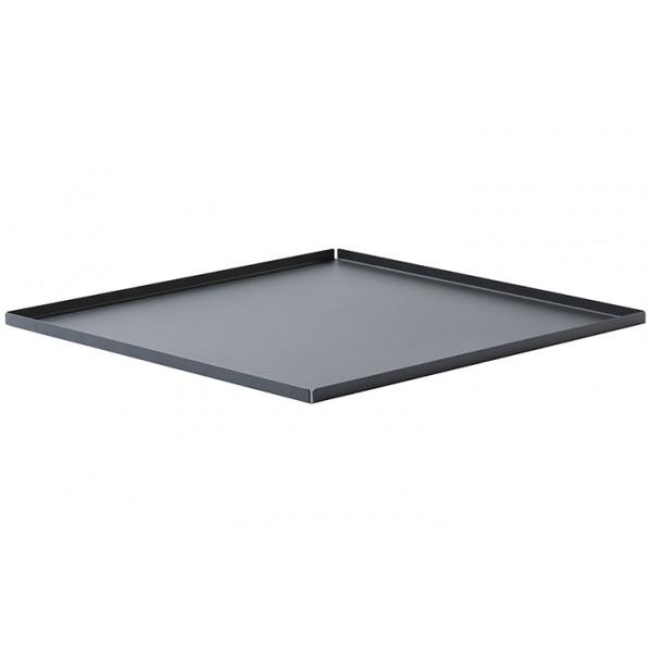 【送料無料】MA ローテーブル用トレイ ブラック W600×D600×H20 660156 1個