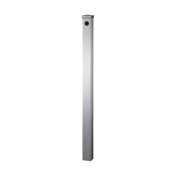 【送料無料】SANEI ステンレス水栓柱(下給水) シルバー T8000-60X1200