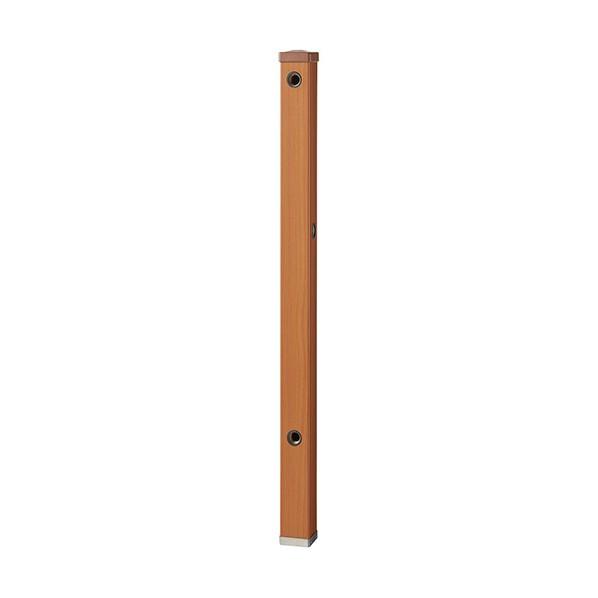 【送料無料】SANEI 木目調水栓柱 木目ブラウン T803BW-60X900-BR