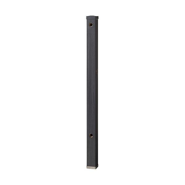 【送料無料】SANEI 木目調水栓柱 木目ダーク T803BW-60X900-D