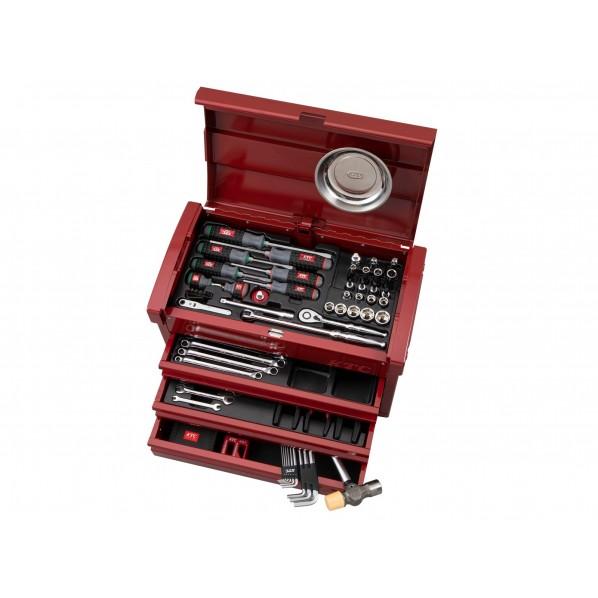 【送料無料】KTC 68点工具セット 特別色セット パールレッド SK36820EPR 1セット