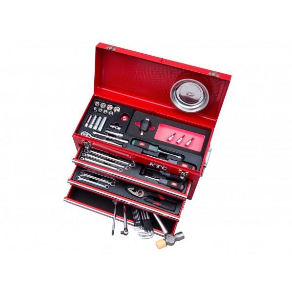 【送料無料】KTC 57点工具セット(トルクル採用セット) レッド SK35720XTQ 1セット