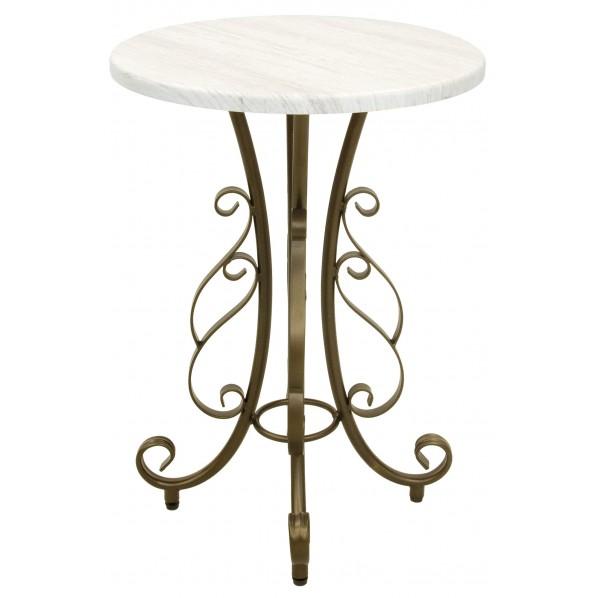 【送料無料】Celestia(セレスティア) 優美なサイドテーブル ST-400 1個