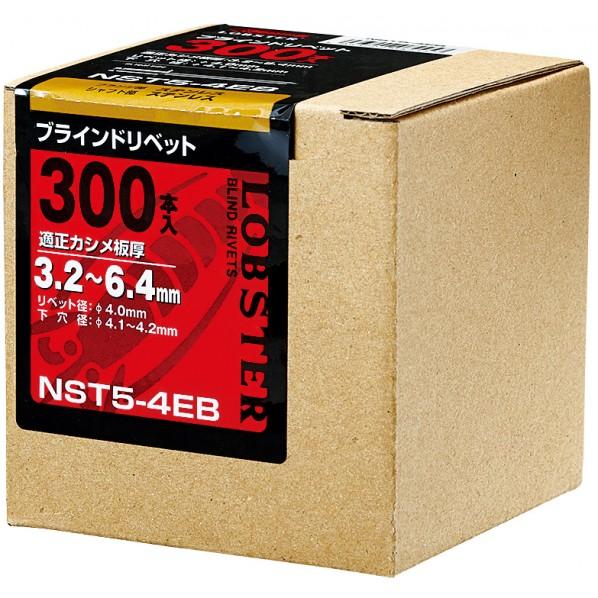 【送料無料】エビ ブラインドリベットエコBOXステンレス/ステンレス6−4(150本入) 91 x 92 x 92 mm NST 6-4EB 150本