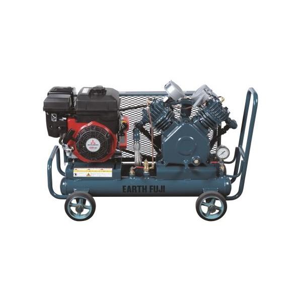 【送料無料】エスコ(esco) 2.2kw エアーコンプレッサー(エンジンタンク 10L) EA116FF-3A 1台