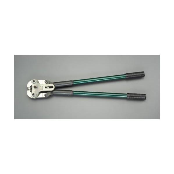【送料無料】エスコ(esco) 70 -150mm2 圧着ペンチ(裸端子用) EA538CL-1 1個