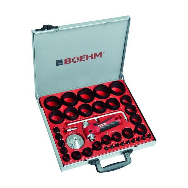 【送料無料】BOEHM BOEHM 穴あけポンチ 34個セット シールリングカッター付 390 x 375 x 60 mm JLB260PACC ハンマー・刻印・ポンチ 34個