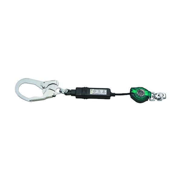 リコロ‐N ロック装置付巻取器 タイプ1ランヤード シングル (墜落制止用器具)