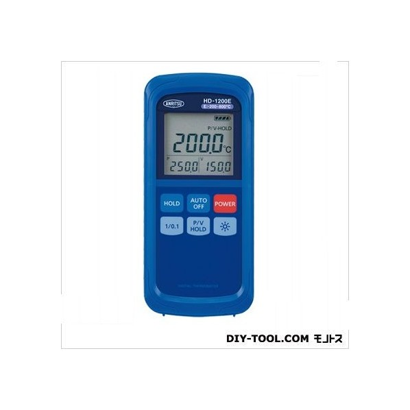 【送料無料】安立計器 デジタル温度計(本体のみ 約76(W)×167(H)×36(D) 突起部除く HD-1200K 1個