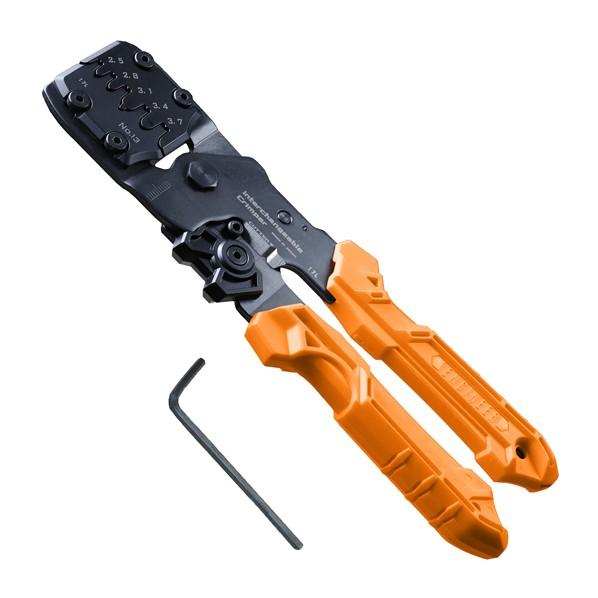 【送料無料】エンジニア(ENGINEER) 精密圧着ペンチ オレンジ 205mm PAD-13 1