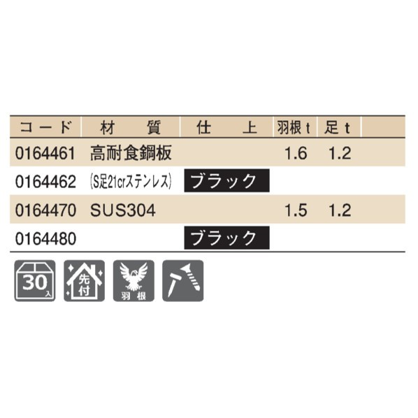D419 304ステン ブラック スフィンクスS60雪止 段葺(IV型)