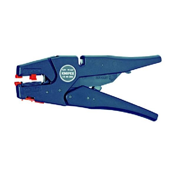【送料無料】KNIPEX KNIPEX 1240−200 ワイヤーストリッパー 219 x 75 x 25 mm 1240-200 電設工具