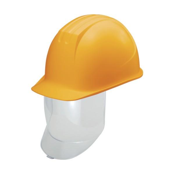 【送料無料】タニザワ タニザワ 大型シールド面付ヘルメット 溝付 イエロー 292 x 223 x 161 mm ヘルメット・軽作業帽