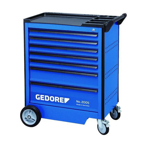 【送料無料】GEDORE GEDORE ツールトローリー 引出7段 67x5 137x1 207x1 工具セット