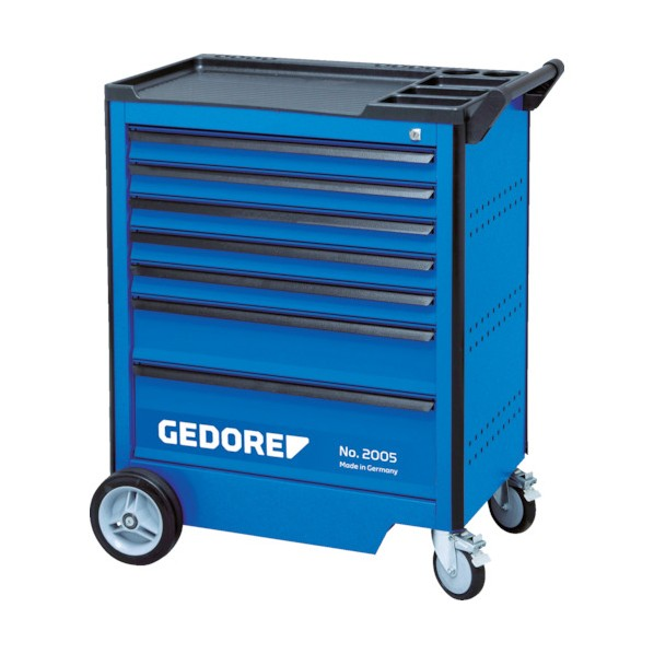 【送料無料】GEDORE GEDORE ツールトローリー 引出6段 67x3 137x2 207x1 475 x 755 x 985 mm 工具セット