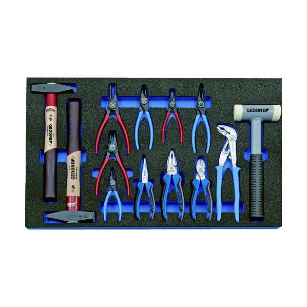 【送料無料】GEDORE GEDORE ツールセット 2005CT4‐8000 400 x 640 x 70 mm 工具セット