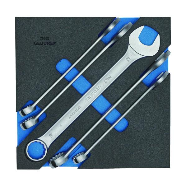 【送料無料】GEDORE GEDORE コンビスパナセット 1500CT2‐7‐32 327 x 325 x 64 mm 工具セット