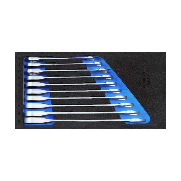 【送料無料】GEDORE GEDORE コンビラチェットレンチセット 1500CT1‐7R 333 x 166 x 67 mm 工具セット