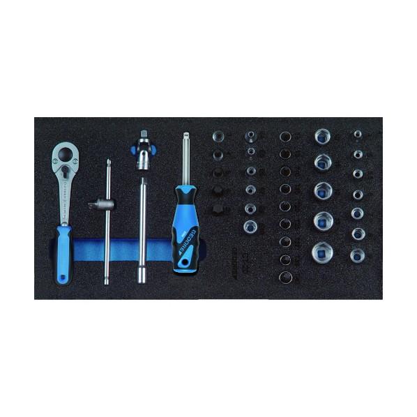 【送料無料】GEDORE GEDORE ソケットレンチセット1/4 1500CT1‐20 330 x 165 x 60 mm 工具セット