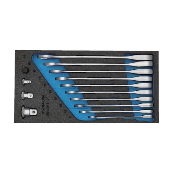 【送料無料】GEDORE GEDORE コンビネーションスパナセット 1500CT1‐7RA 328 x 169 x 66 mm 工具セット