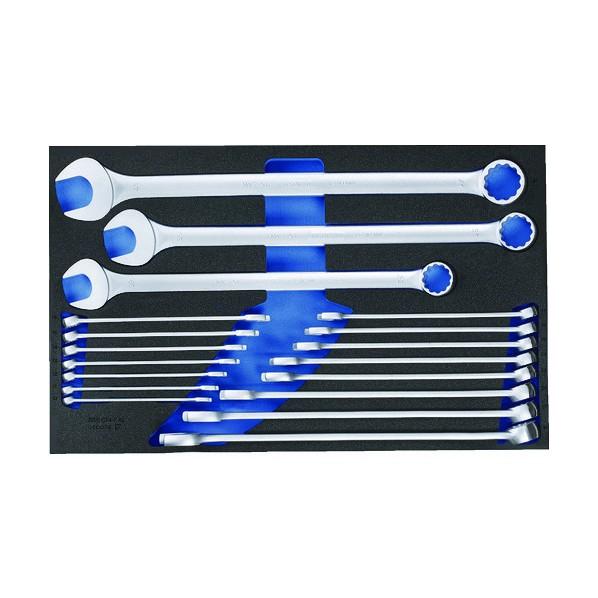 【送料無料】GEDORE GEDORE コンビネーションスパナセット 2005CT4‐7XL 640 x 405 x 70 mm 工具セット