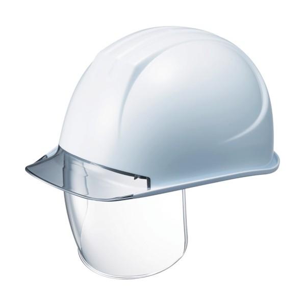 【送料無料】タニザワ タニザワ 特大型ヘルメット シールド面付 溝付 透明ひさし付 310 x 238 x 164 mm ヘルメット・軽作業帽