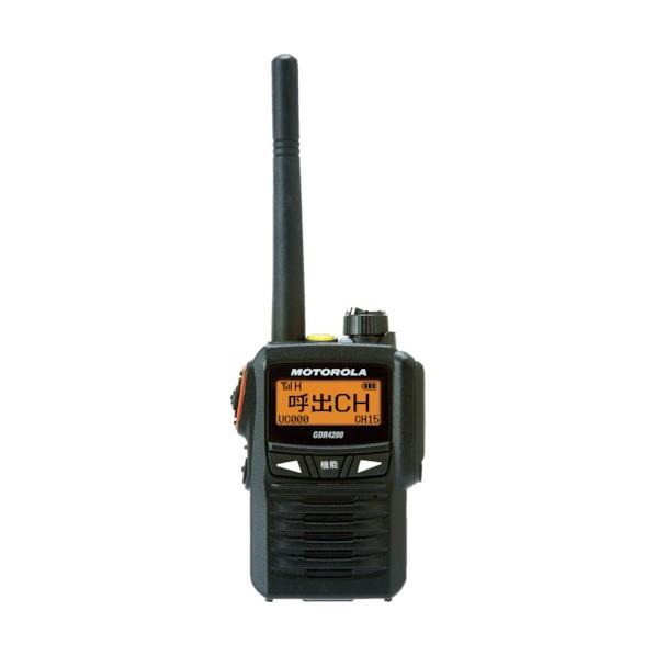 【送料無料】モトローラ モトローラ デジタル簡易無線機 223 x 160 x 77 mm GDR4200 安全用品