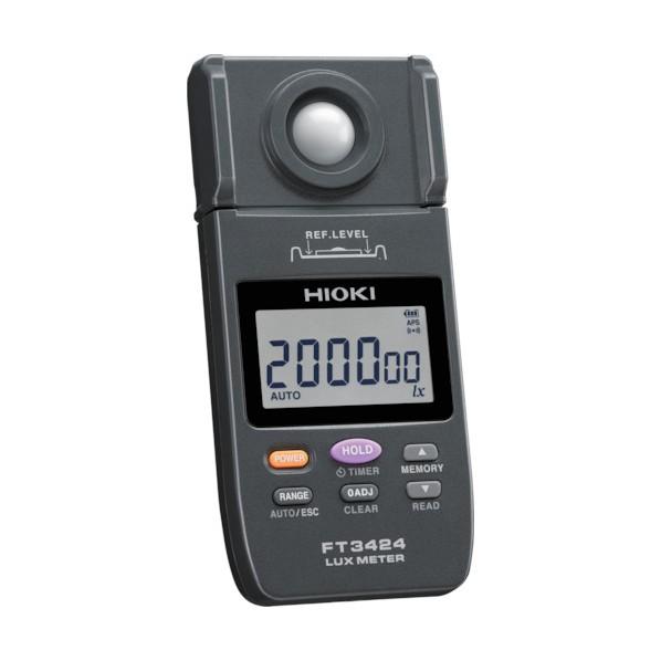【送料無料】HIOKI HIOKI 照度計  FT3424 書類3点付 190×130×65MM FT3424SYORUI3TENTUKI 1個