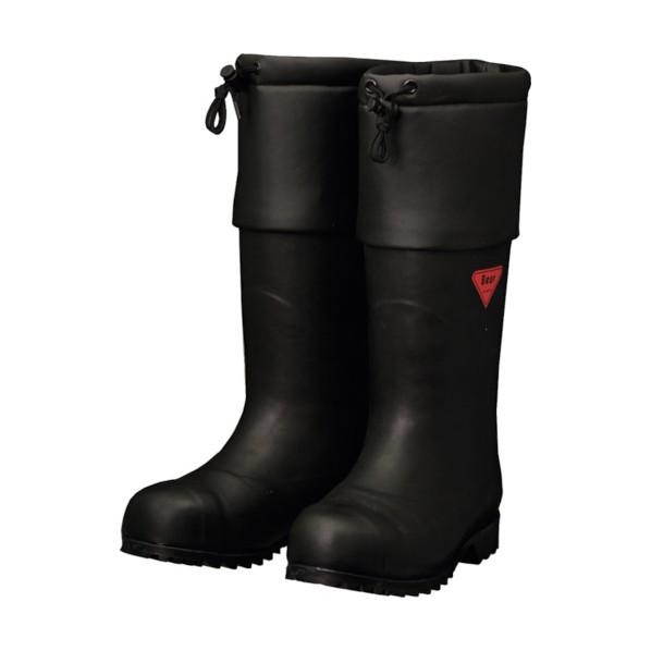 【送料無料】SHIBATA SHIBATA 防寒安全長靴 セーフティベアー#1001白熊(ブラック) 500 x 370 x 110 mm AC111-26.0