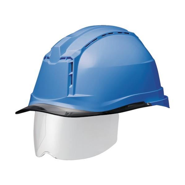 【送料無料】ミドリ安全 ミドリ安全 ハイスペックモデル(ワイドシールド付) SC−19PCLVSRA3α 306 x 253 x 205 mm SC-19PCLVSRA3-ALPHA-BL/S ヘルメット・軽作業帽