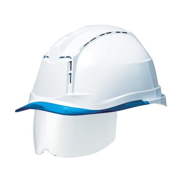 【送料無料】ミドリ安全 ミドリ安全 ハイスペックモデル(ワイドシールド付) SC−19PCLVSRA3α 293 x 227 x 148 mm SC-19PCLVSRA3-ALPHA-W/BL ヘルメット・軽作業帽