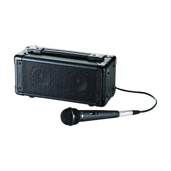 【送料無料】SANWA SANWA マイク付き拡声器スピーカー 332 x 236 x 240 mm MM-SPAMP
