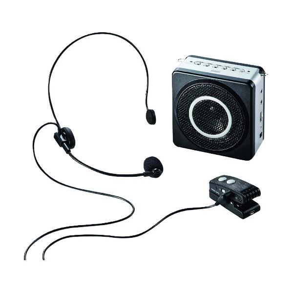 【送料無料】SANWA SANWA ワイヤレスポータブル拡声器 322 x 220 x 80 mm MM-SPAMP5