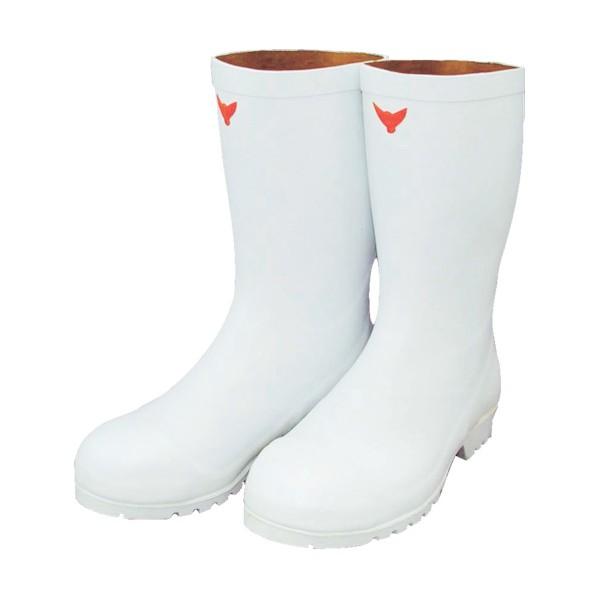 【送料無料】SHIBATA SHIBATA 安全耐油長靴(白) 27.0 SB531-27.0