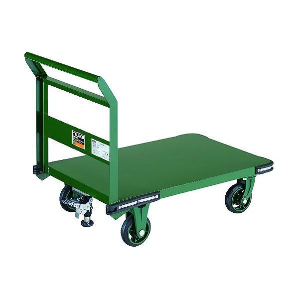 鋼鉄製運搬車 Φ150鋳物車輪 LS付