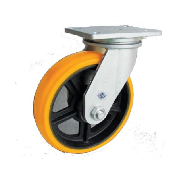 【送料無料】ヨドノ ヨドノ 重量用高硬度ウレタン自在車200φ 133 x 247 x 257 mm SDUJ200 2