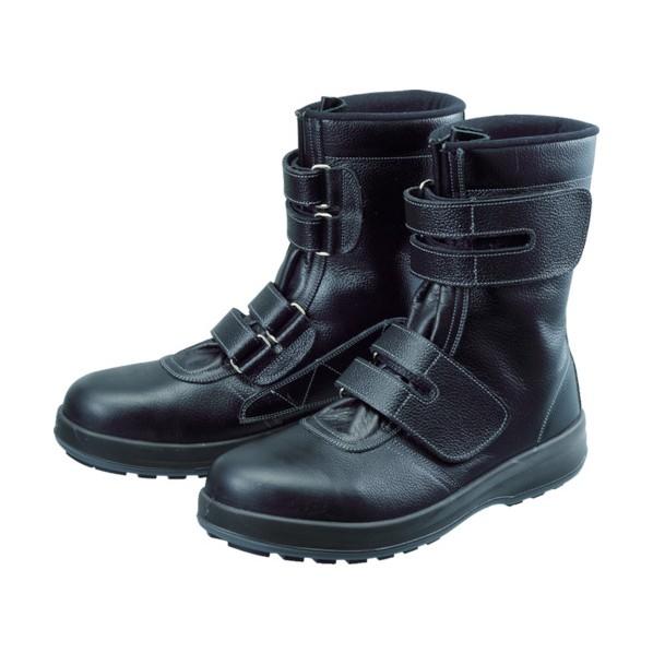 【送料無料】シモン シモン 安全靴 長編上靴 マジック WS38黒 26.5cm 320 x 285 x 115 mm WS38-26.5 10