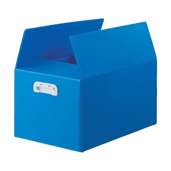 【送料無料】トラスコ(TRUSCO) TRUSCO ダンボールプラスチックケース 5枚セット 果物箱サイズ 取っ手穴なし 半透明 805 x 560 x 75 m