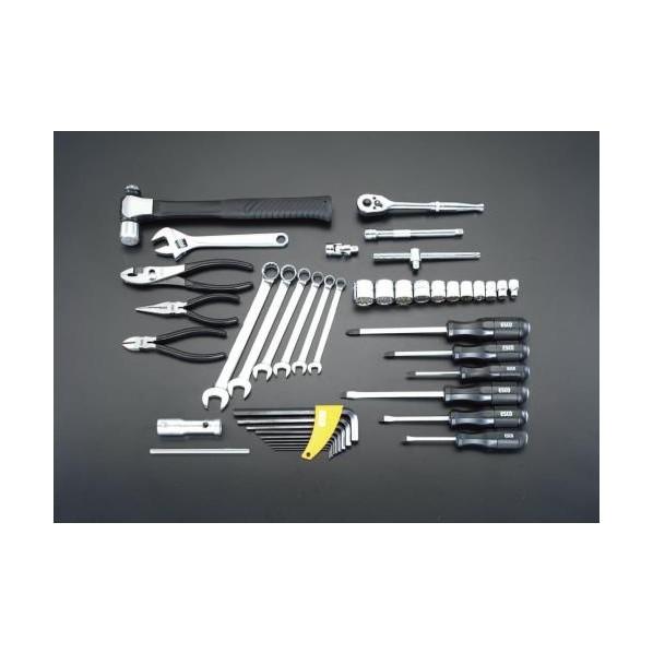 【送料無料】エスコ(esco) [43個組] 整備用工具セット EA612S-4A 1個
