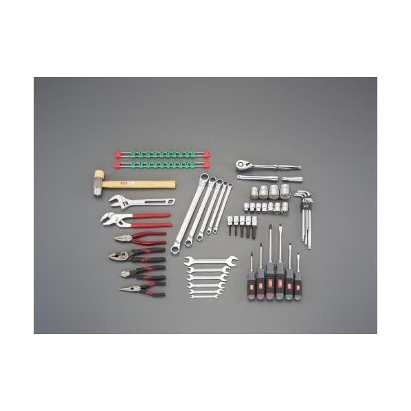 【送料無料】エスコ(esco) [52個組] 工具セット EA612SB-13 1本