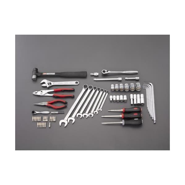 【送料無料】エスコ(esco) [62個組] 工具セット EA612SC-58 1個
