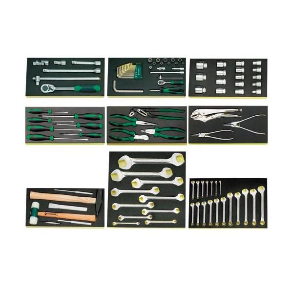 【送料無料】エスコ(esco) 98個組 工具セット EA612TW 1個