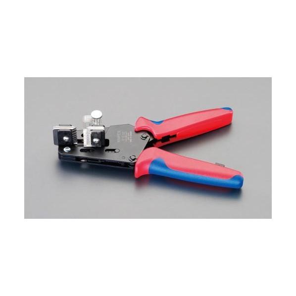 【送料無料】エスコ(esco) 4.0-10.0mm2 ワイヤーストリッパー EA580KA-14 1丁