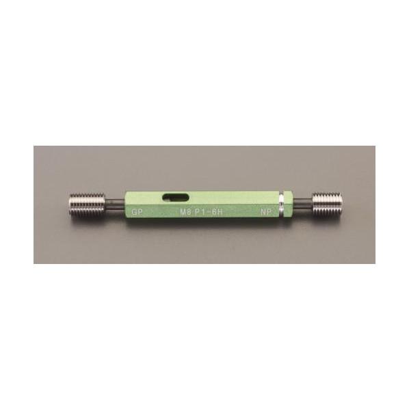 【送料無料】エスコ(esco) M6xP0.75/74mm  限界ねじゲージ(ISO導入JIS) EA725DK-3 1個