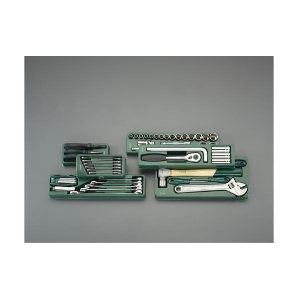 【送料無料】エスコ(esco) [69個組] 工具セット EA689SE-2 1個