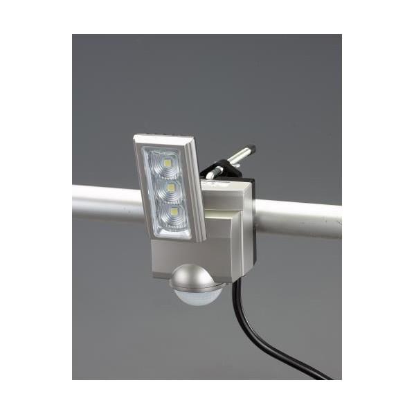 【送料無料】エスコ(esco) AC100V/11.0W LEDセンサーライト(1灯) EA864CB-161A 1個